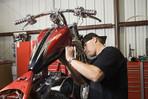 Custombike, Umbau Serienmotorrad, maßgeschneidert