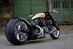 Harley, Custombike, Alu und Edelstahl schweißen