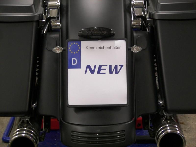 Kennzeichenhalter – Brandys Custom Bikes aus Grünsfeld